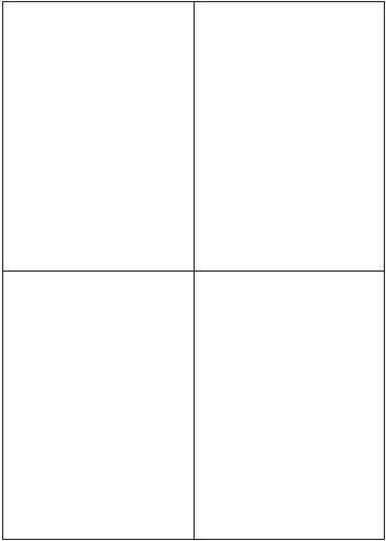 4 etichette bianche per foglio 105 x 148 mm 400 Etichette Adesive senza margini 100 fogli A4
